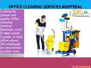 Office Cleaning Services West Island