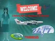 Hire Lifeline Air Ambulance in Ranchi for Comfier Patient Transfer