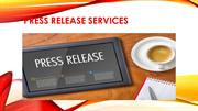 Facts of Press Release Services