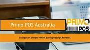 Things to Consider When Buying Receipt Printers