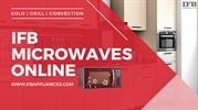 IFB MICROWAVES ONLINE | SOLO MICROWAVES | ALL IN ONE MICROWAVE