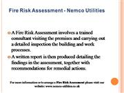 Fire Risk Assessment-1