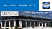 Collin County Probate Lawyer
