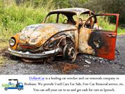 Do You Need Car Wrecker Service In Rocklea - Visit Us For Your Service