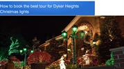 How to book the best tour for Dyker Heights Christmas lights