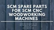 SCM spare parts for SCM CNC woodworking machines