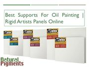 Get the Best Supports For Oil Painting | Rigid Artists Panels