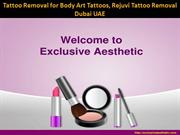 Tattoo Removal for Body Art Tattoos, Rejuvi Tattoo Removal Dubai UAE