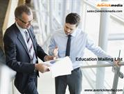 Education Mailing List | Education Industry EmailList