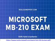 Microsoft MB-210 Dumps PDF With Guaranteed Success In Exam