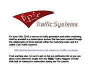 Epic Traffic Systems