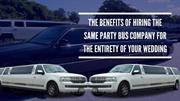 The Benefits Of Hiring The Same Party Bus Company For Your Wedding