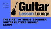 Things to learn before you start playing your guitar