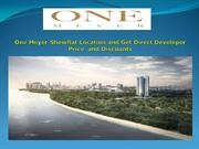 One Meyer Showflat Location and Get Direct Developer Price and Discoun