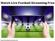 Watch Live Football Streaming Free
