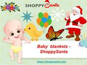 Buy Best Muslin Baby Blankets Online at ShoppySanta