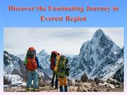 Discover the Fascinating Journey in Everest Region