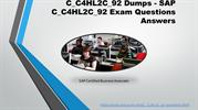 Ace4sure C_C4HL2C_92 Practice Test Questions Answers