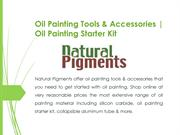 Oil Painting Tools & Accessories | Painting Material Online