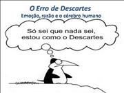 O Erro do Descartes
