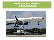 Delta Airlines Phone Number +1-866-751-5006 Support Number