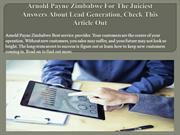 Arnold Payne Zimbabwe For The Juiciest Answers About Lead Generation,