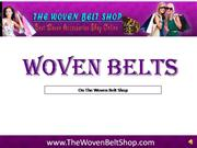 Woven Belts for Women
