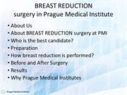 Breast Reduction surgery abroad
