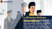 Call Lufthansa Airlines Reservation number to tell us the experience