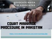 Procedure Of Court Marriage In Pakistan 2019