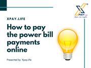Electricity bill payment online