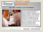 Driver's License For Sale, Practice Permit Test, Real Driver's License
