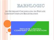 Outright Counselling to Private Limited Company Registration