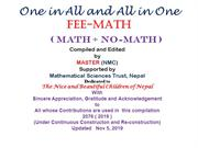 ALL in ONE and ONE in All : MATH +N)-MATH 02