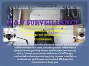 Commercial and Residential security camera installation