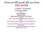 ALL in ONE and ONE in ALL: MATH+NMATH  1