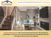 Finishing Basements | Professional Services‎ With Premium Basement