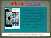 Best iPhone Repair Shop in Abu Dhabi-Total Care Repair-iPad Repair