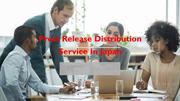 Press Release Distribution Service In Japan