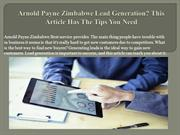 Arnold Payne Zimbabwe Lead Generation This Article Has The Tips You Ne