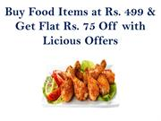 Buy Food Items at Rs. 499 & Get Flat Rs. 75 Off with Licious Offers