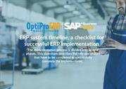 ERP System Timeline: A Checklist for Successful ERP Implementation