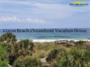 Cocoa Beach Oceanfront Vacation House