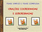 Frases simples e complexas