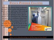 Railing Powder Coating Services in Yorkshire-Hi Tech Power Coating