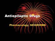 Antiepileptic drugs - drdhriti