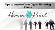 Tips to Improve Your Digital Marketing Efforts