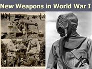 5-WWI Weapons