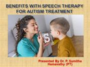 Top 10 Benefits with Speech Therapy for Autism Treatment in Bangalore