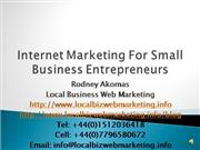 local biz web marketing presentation